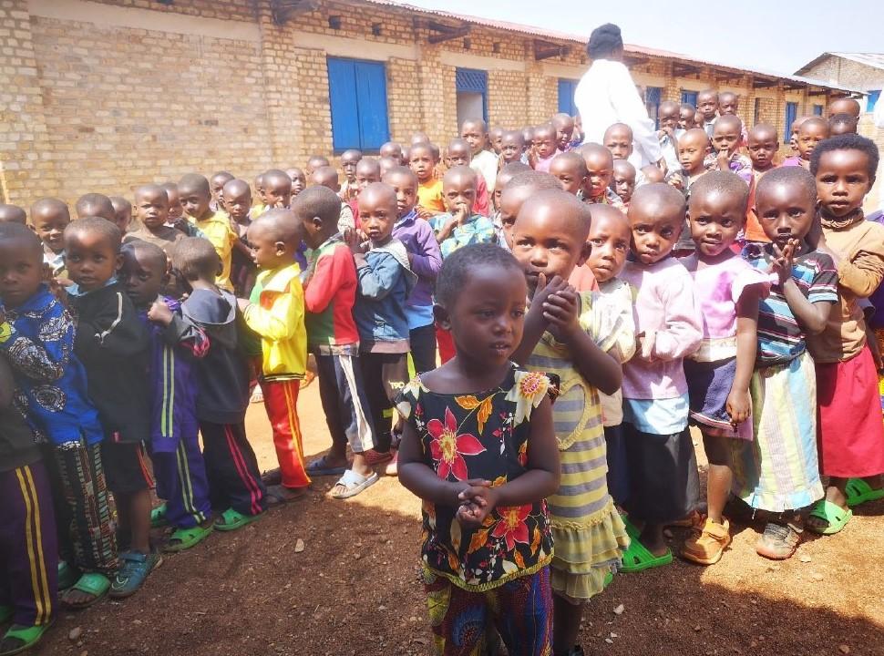 Bambini della scuola di Cyumba